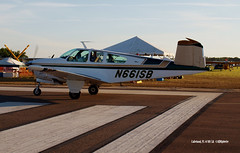 160408_169_N661SB (AgentADQ) Tags: sun n fun flyin air show airshow airplane plane aviation lakeland florida 2016 1966 beech v35 bonanza beechcraft