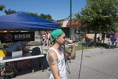 KRSM performer at Open Streets Lake Street 2016 (Fibonacci Blue) Tags: minneapolis mpls lake lakestreet minnesota mn open street bicycling skating event fair krsm openstreetsmpls openstreets