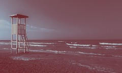 Purple sea (_BiBi96_) Tags: sea seaside waves dark purble