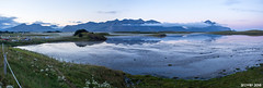 Lago Hfn (P8052089_P8052090-2 images_1280) (dr_cooke) Tags: islandia iceland hfn campsite lake reflection dusk anochecer reflejo camping niebla fog mist