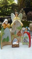 The Holy Family by Everything About Santa (Everything About Santa) Tags: joseph mary jesus holyfamily fiberglassresin everythingaboutsanta