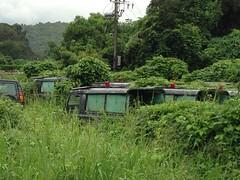Chow Kwan Kee, Aug 2015 (Yanamation) Tags: royal hong kong police car vehicle scrapyard military army british colony  jeep suv 4x4