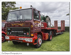 The Wolds Wanderer (Paul Simpson Photography) Tags: thewoldswanderer ljbrumpton lincolnshire lincolnshireshowground sonya77 august2016 imageof imagesof paulsimpsonphotography photoof photosof transport transportshow lorry truck bedford 1980s classic vintage