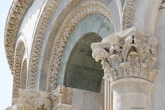 Pisa Cathedral Italy (Ineke Klaassen) Tags: piazzadeimiracoli piazza square squareofmiracles pisa italy ita italia itali duomo dom cathedral kathedraal boog arch arches bogen ornament ornaments ornamenten facade versiering toscane toscana tuscany architecture architectuur architect architettura architectural