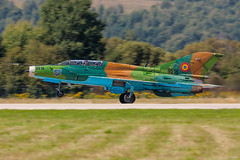 Romanian Air Force /  Mikoyan Gurevich MiG-21UM Lancer B  / 9516 / Slia Air Base / 28.08.16 (Marcin Sikorzak) Tags: romanian air force mikoyan gurevich mig21um lancer b 9516 slia base 280816