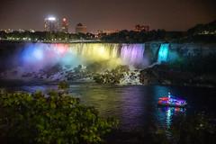Falls at night (TimoOK) Tags: niagarafalls ontario canada kanada niagara ship laiva colours colors vrit