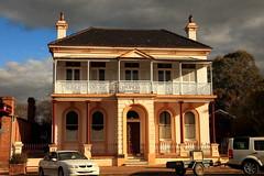 Former Bank, Molong (Darren Schiller) Tags: newsouthwales molong bank architecture facade building balcony heritage smalltown