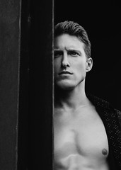 Photo Shoot : Levi (jkc.photos) Tags: man male model photoshoot portrait physique athletic body shirtless chest