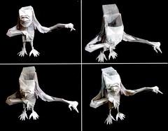 ORIGAMI - BRAINLESS ! (V.2) (Neelesh K) Tags: origami brainless boxpleating neelesh k 32 grids