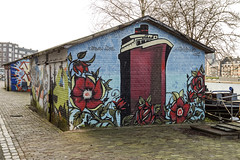 Grafitti of Coolhaven 1 (R. Engelsman) Tags: grafitti coolhaven rotterdam rotjeknor roffa 010 netherlands nederland holland art streetart outdoor building hiphop hiphophuis mural urban arts painting music