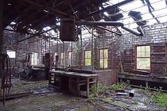 Abandoned workshop. Full article here: http://www.placesthatwere.com/2016/08/beautiful-abandonment-nature-reclaims.html #abandoned #abandonedplaces #decay #abandonedbuilding #derelict #Iowa #industrialdecay #urbex #urbanexploration #lehigh #brick #worksho (placesthatwere) Tags: abandoned urbanexploration ghosttowns urbex rurex abandonedplaces forgottenplaces urbandecay decay beautifuldecay