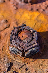 Rusty old nut (cipprio) Tags: rusty nuts nikon sigma1750 abstract