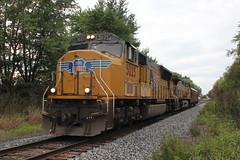 UP 5025 Take 1 (CC 8039) Tags: up ice dme cp trains sd70m ac44cw tech train mt carroll illinois