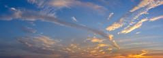 _DSC0130-Pano (johnjmurphyiii) Tags: 06457 arrigoni bridge clouds connecticut connecticutriver dawn middletown originalnef sky summer sunrise tamron18270 usa johnjmurphyiii pano panorama stitch