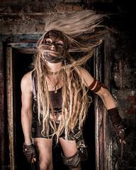 _RMS9957 (rsheill) Tags: zylonite abandoned urbex urbanexploration urbandecay urbanexplorer decay rust grunge halloween masks curtis paper adams ma