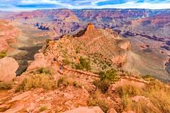 Grand Canyon - South Kaibab Trail (LB-fotos) Tags: grand canyon national park south kaibab trail wandern hiking landscape landschaft natur nature wideangle weitwinkel nationalpark usa arizona grandcanyon gorge