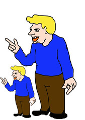 Donald Trump & Son (Robin Hutton) Tags: donald trump son robinhuttonart cartoon political