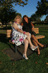 new120196-IMG_2001t (Misscherieamor) Tags: transvestite sissy crossdress tgirl transgender travestis travestie travesti tranny tv ts cd tg m2f tgurl gurl mature xdresser feminine femme transformation travestido travestit travestito traviesa transwoman park parkbench friend prettydress