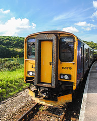 Class 150 at Looe (whatisthewilderness) Tags: great western railways first class 150 1502 sprinter train dmu cornwall looe liskeard 150239