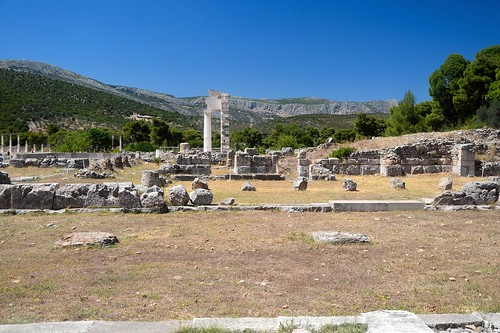 Sanctuary of Epidavros: Hestiatorium