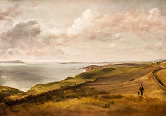Weymouth Bay from teh Downs above Osmington Mills (Thomas Hawk) Tags: boston bostonartmuseum johnconstable massachusetts museum museumoffineartsboston usa unitedstates unitedstatesofamerica weymouthbayfromtehdownsaboveosmingtonmills painting fav10