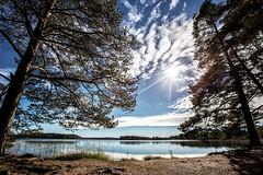 IMG_7071 (juhhka) Tags: suomi finland jalasjrvi madesjrvi maisema syksy lake jrvi taivas sky clouds pilvet