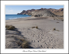 Playa de Monsul, San José, Parque Natural Cabo de Gata - Nijar, Almería, Spain (Jequiles) Tags: monsul sanjose almeria playademonsul cabodegata turismo jequilesgp desertbeach nature