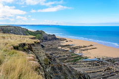 SW Coast Path (CAscotPhotography) Tags: cascotphotography cornwall bude coast sea seascape beach sand cliffs clouds nature nationaltrust naturallight nikon d7100