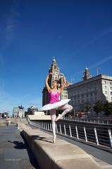 DSC06379 (liverpix) Tags: cleo dog performing anthonywalsh photowalk 500px liverpool pierhead liverbuilding ballerina ballet