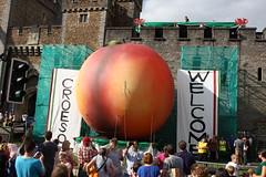 The Giant Peach at Cardiff Castle (infomotiveUK) Tags: james giant peach cardiff castle city unexpected roald dahl