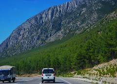 #travelling #travel #roads #mountains #turkey #blacksea #sinop (meltemksr) Tags: turkey blacksea mountains sinop roads travelling travel