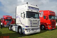 Scania R580 'Ball Trucking' reg E11 BTL (erfmike51) Tags: scaniar580 artic truck v8 lorry balltrucking swedefest2016