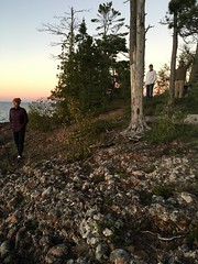 Lukonich Point at sunset (thechelseagrin) Tags: upperpeninsula michigan sunsetbay keweenawpeninsula nature lakesuperior