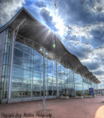 term2.tonemapped paint (madktm) Tags: robin hood airport doncaster sheffield terminal canon sigma airfield finingley south yorkshire hdr high dynamic range tonemap building architecture outdoor lightroom