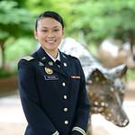 Recent alumna Tuyen Truong (Interdisciplinary Studies '15).