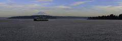 Mount Rainier (IzzyWithTheCamera) Tags: mount rainier washington ferry