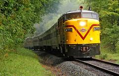 NKP 765's CVSR Wingman: 1 (craigsanders429) Tags: cvsrfpa4no6771 cuyahogavalleyscenicrailroad cuyahogavalleynationalpark cvsrtrains cvsr fpa4 passengertrains passengercars locomotives alcolocomotives