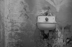 Alcatraz Detail 2 (Joseph Gaitens) Tags: sanfrancisco blackandwhite sink cell alcatraz