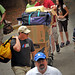 The back stairs up Lee Residence Hall buzzes with activity as families move their students in on movie-in day.MOVEIN.2012.1760
