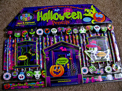 Is it October yet? (Lady Pandacat) Tags: halloween stickers lisafrank pandacat canong9 tinaangel