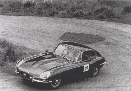 E-type at Rest and Be thankful