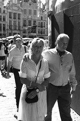 Untitled (Kevin Vanden) Tags: street brussels bw white black streets monochrome photography mono photo fuji place belgium walk candid bruxelles grand just fujifilm dear markt brussel grote x100