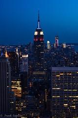 City Lights (FrankieCorrado) Tags: nyc newyorkcity newyork centralpark rockefellercenter empirestatebuilding topoftherock 30rock newy