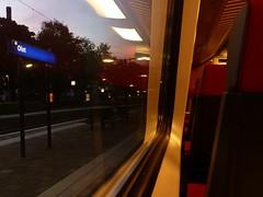 Station Olst bij schemer (RBZWLL) Tags: holland station train nacht ns avond railways coupe klas trein zwolle intercity 2012 spoorwegen 1e nederlandse schemer olst