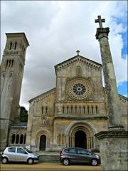 Wilton - Church of St Mary & St Nicholas (pefkosmad) Tags: church basilica wiltshire romanesque wilton lombardy parishchurch stmaryandstnicholas italianatechurch northsouthaxis wiltsweekend 18411844