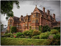 Knightshayes Court (PhilnCaz) Tags: summer castle history castles ruins nt ruin scenic somerset historic nik nationaltrust processed hdr highdynamicrange e5 knightshayescourt tonemapped thenationaltrust knightshayes efex niksoftware silverefex philncaz somersetholiday2012 knightshayeshouse knightshayescastle