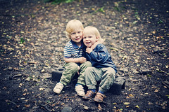 Brothers (@SJA Photography) Tags: family boy boys smile smiling children outdoors happy hugging woods hug child close brothers cuddle quarry