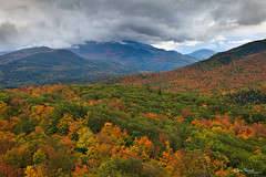 bye, bye blue sky ([Chris Tennant]) Tags: statepark autumn ny newyork storm fall nature clouds outdoors view hiking country adirondacks foliage summit vista keene adk owlshead 5dmkii christennantphotography
