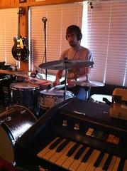 Rhythmic view. (bouge pas) Tags: music drums recording windupbird