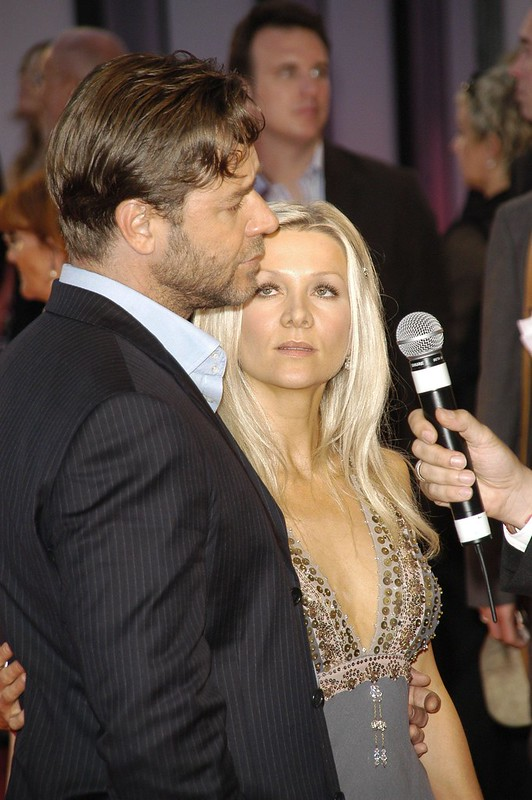 RUSSELL CROWE and wife DANIELLE SPENCER - Wenn.com